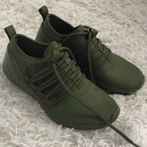 NWOT RARE Nike Army Green Sneakers